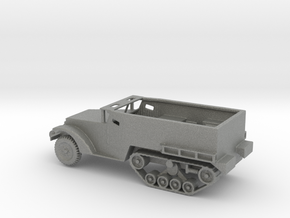 1/160 Scale M2 Halftrack in Gray PA12