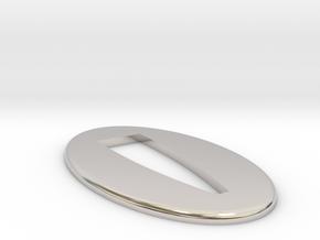Seppa  1.5 mm  in Rhodium Plated Brass