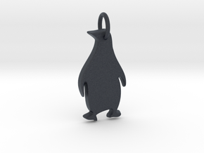 Penguintastic pendant  in Black Professional Plastic