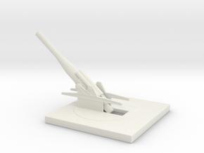 skoda 24cm Gun M16 1/100 in White Natural Versatile Plastic