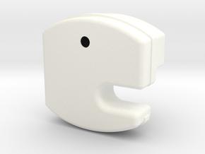 1.8 MAG58 (B) in White Processed Versatile Plastic