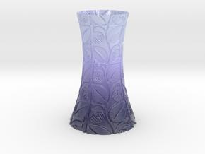 Lavanda Vase in Glossy Full Color Sandstone