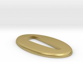 Seppa  2 mm in Natural Brass