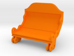 Modular Hardcase - Hinge in Orange Processed Versatile Plastic