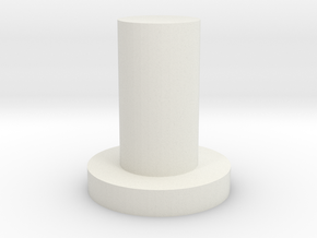 Quad 22 Balance Control Peg in White Natural Versatile Plastic