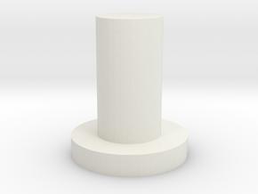 Quad 22 Balance Control Peg in White Natural Versatile Plastic