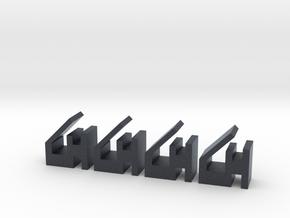 Quad 303 PCB Retaining Clips 4 in Black PA12