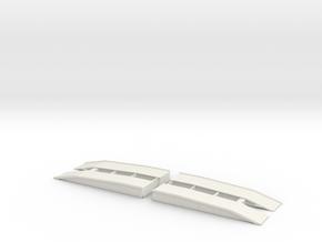 1/87 Scale AVLB Bridge in White Natural Versatile Plastic