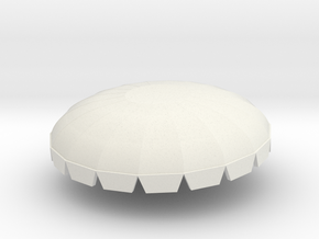 Spaceage canopy and axle in White Natural Versatile Plastic