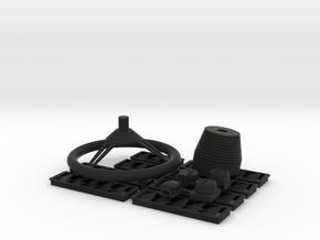 Wellcraft SC38 Fitting Set I in Black Premium Versatile Plastic: 1:10