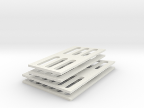 SC38 Air Grids 1:5 in White Natural Versatile Plastic