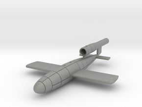 V-1 flying bomb  Fieseler Fi 103 in Gray Professional Plastic: 1:144