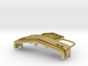 1/64 scale IH Lonestar bumper in Natural Brass