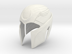 Magneto X-men Apocolypse helmet 1/6 th scale for 1 in White Natural Versatile Plastic