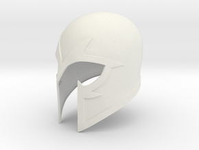 Magneto X-men First Class helmet 1/6 th scale for  in White Natural Versatile Plastic
