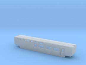 TGV Restaurantwagen Scale TT in Smooth Fine Detail Plastic