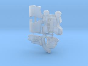 Dark Battle Buckethead (x1) in Smoothest Fine Detail Plastic