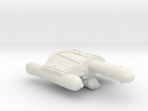 3788 Scale Romulan JayHawk Battle Frigate WEM in White Natural Versatile Plastic