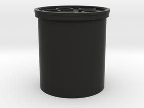 """Yoda blade plug 3/4"""" in Black Premium Versatile Plastic"""