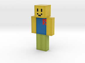 The_OOF_Maker | Minecraft toy in Natural Full Color Sandstone