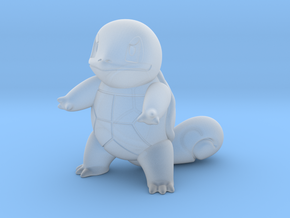 Squirtle in Smooth Fine Detail Plastic