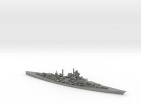 German Bismarck-Class Battleship in Gray Professional Plastic