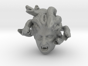 Medusa's Head in Gray Professional Plastic