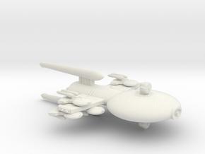 3788 Scale Gorn Carnosaurus-P Gunboat/PF Tender SR in White Natural Versatile Plastic