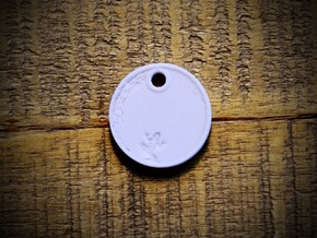 Quinn Mountain Aromatherapy Pendant in Natural Sandstone