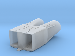 B-1B Engine Intakes in Smooth Fine Detail Plastic