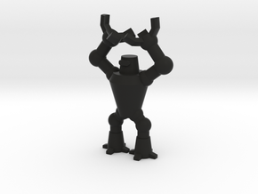 Mr. Roboto the dicebearer in Black Natural Versatile Plastic