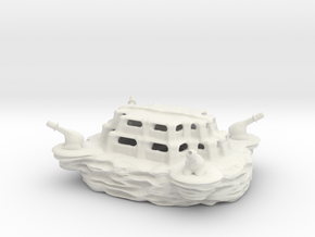 The SLINGSHOT military base! in White Natural Versatile Plastic
