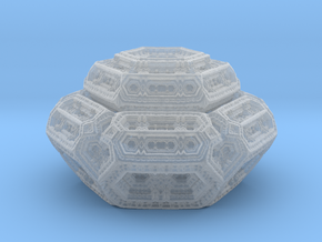 Hexagonal mandelwhatever  in Smooth Fine Detail Plastic
