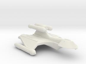 3125 Scale Romulan GryphonHawk+ Heavy War Cruiser in White Natural Versatile Plastic