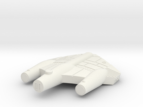 3125 Scale ISC Frigate (FF) SRZ in White Natural Versatile Plastic