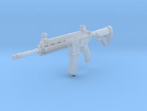 1/12th HK416Dgun in Smooth Fine Detail Plastic