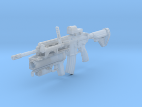 1/12th HK416Dtac2 in Smooth Fine Detail Plastic