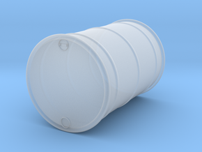 55 gal Oil Drum O scale in Smooth Fine Detail Plastic