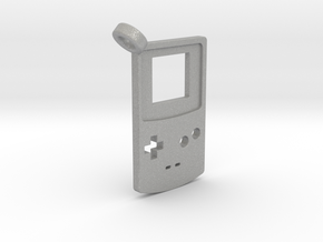 Gameboy Color Styled Pendant in Aluminum