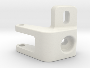 panhard adapter v2 scx10 /2 in White Premium Versatile Plastic