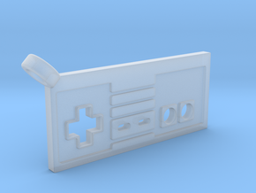 NES Controller Styled Pendant in Smooth Fine Detail Plastic