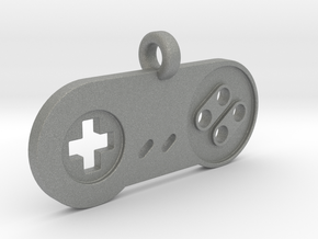 SNES Controller Styled Pendant in Gray Professional Plastic