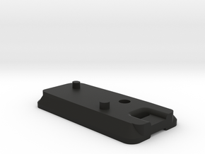 Nikon Z6/Z7 Wrist Strap and Tripod Plate in Black Natural Versatile Plastic