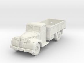 Dodge D15 (open) scale 1/100 in White Natural Versatile Plastic