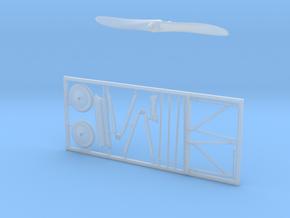 Aero A-18-freeparts in Smoothest Fine Detail Plastic