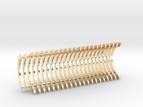 Heat Sink Fins (full) for PP Starkiller in 14K Yellow Gold