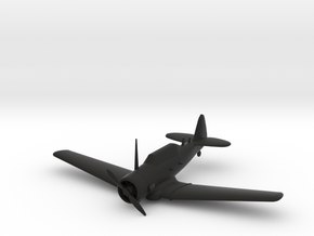 North American T-6 Texan in Black Natural Versatile Plastic