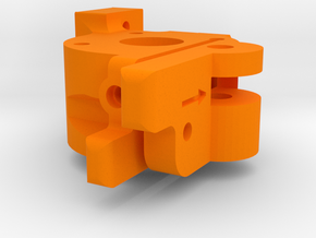 XL - Extruder oben in Orange Processed Versatile Plastic