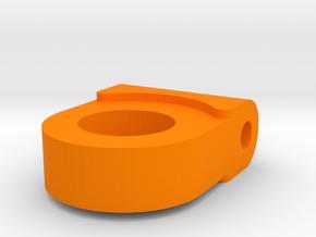 XL - Halterung Schottverschraubung in Orange Processed Versatile Plastic