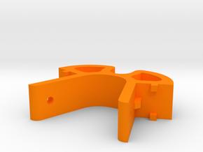 XL - Spulenhalter - oben klein in Orange Processed Versatile Plastic